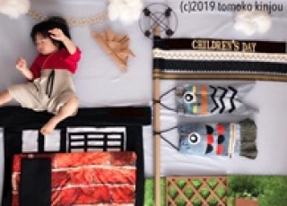 [市原店出張ワークショップ] おひるねアート 「屋根より高い!?現代版鯉のぼり♩」「ママ♡いつも美味しい朝食ありがとう♩」
