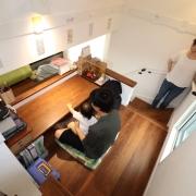 with mamaの家探訪 – どんな場所にいても家族とコミュニケーションが取れる収納たっぷりの家