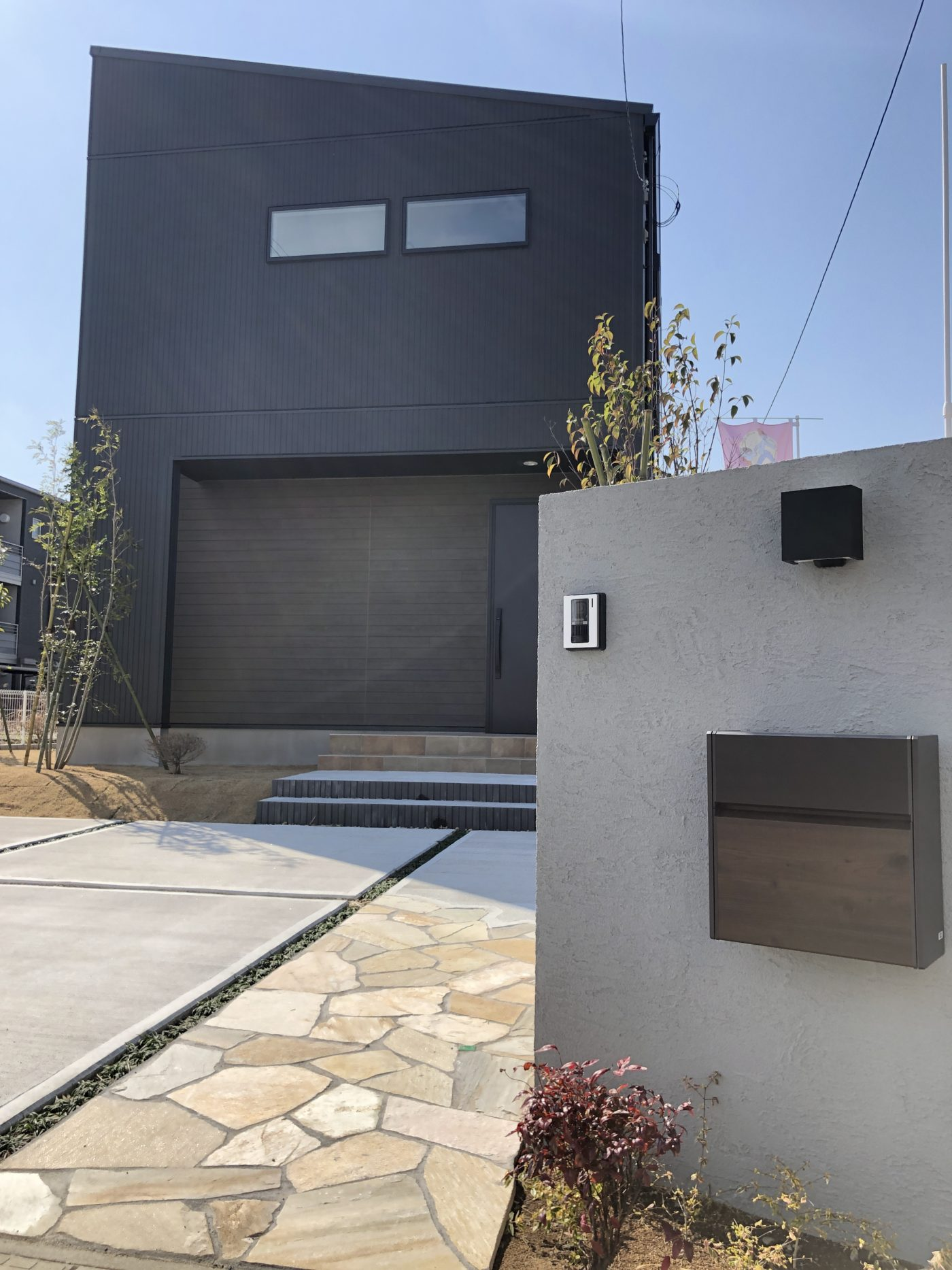 奈良輪完成見学会の家外観