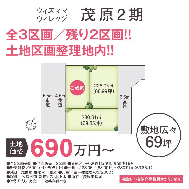 with Mama Village(ウィズママヴィレッジ) 茂原2期売約情報
