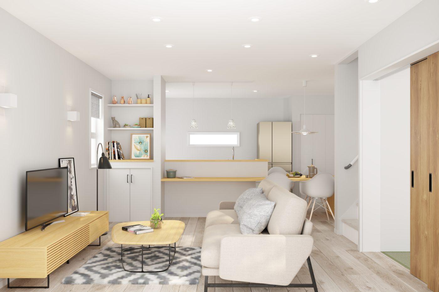 袖ヶ浦市福王台「家族が自然と集まる心地よい空間」の家完成見学会